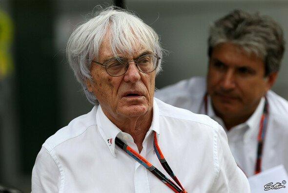 Bernie Ecclestone ist genervt von Teams und Technik - Foto: Sutton