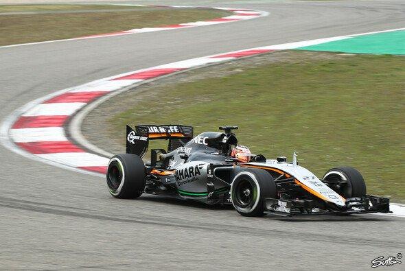 Nico Hülkenberg und Sergio Perez sind am Mittelfeld dran, aber nicht drin - Foto: Sutton