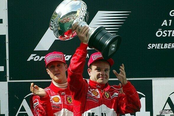 Rubens Barrichello war 2002 mit Michael Schumacher Hauptdarsteller bei einer der kontroversesten Stallregien der Geschichte - Foto: Sutton