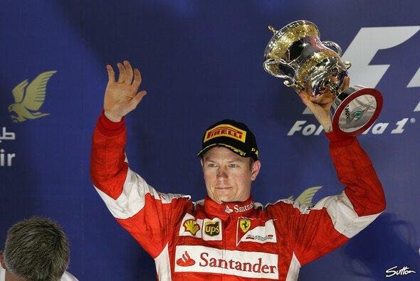 Glänzt Kimi Räikkönen weiter, bleibt er 2016 bei Ferrari - Foto: Sutton