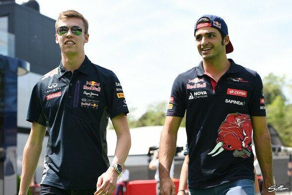 Daniil Kvyat und Carlos Sainz fahren die jeweils dritte Saison für Toro Rosso - Foto: Sutton