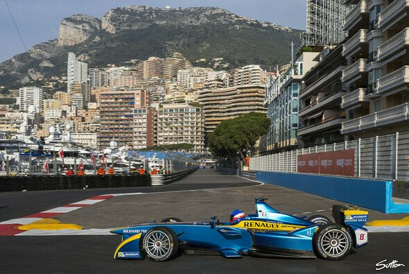 E.Dams hat Großes vor in der neuen Formel E-Saison - Foto: Sutton