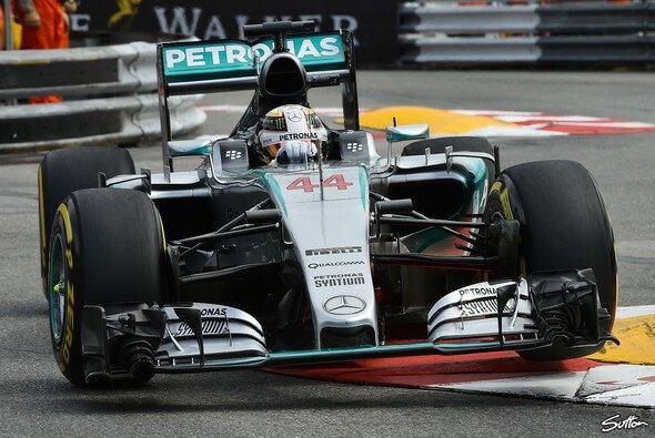 Bestzeit für Lewis Hamilton in Monaco - Foto: Sutton