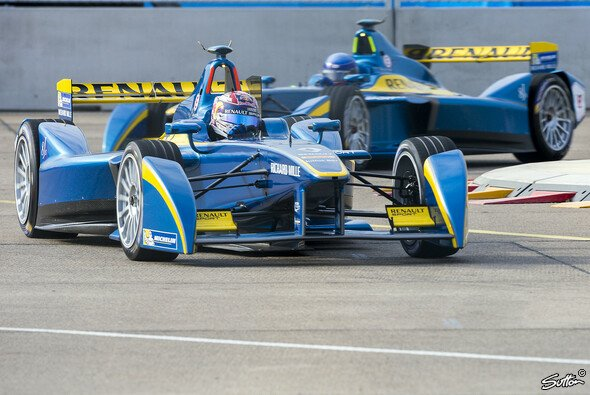 Sebastien Buemi stellte in Donington einen neuen Formel-E-Rundenrekord auf - Foto: Sutton