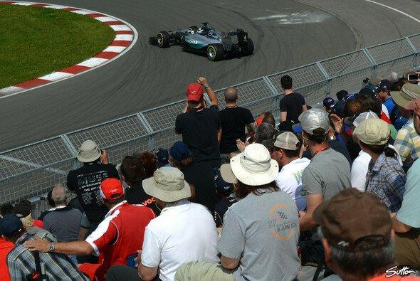 Lewis Hamilton fuhr die Bestzeit und drehte sich - Foto: Sutton