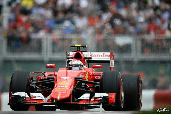 Kimi Räikkönen war am Montreal-Freitag bereits pfeilschnell unterwegs - Foto: Sutton