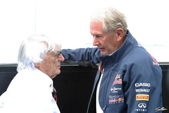 Red Bull weiß Bernie Ecclestone auf seiner Seite - Foto: Sutton