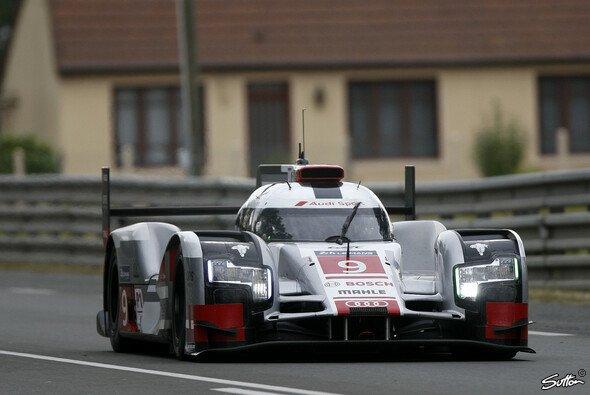 Eindrucksvolle Rückmeldung: Audi fuhr die Bestzeit im Low-Downforce-Trimm - Foto: Sutton