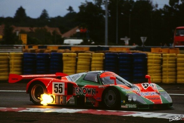 Mazda schickt einen LMP2-Boliden im 1991er-Le-Mans-Design zum nächsten IMSA-Rennen - Foto: Sutton