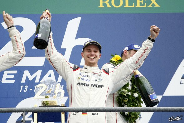 Nico Hülkenberg feierte im Juni mit dem Le-Mans-Sieg den größten Erfolg seiner Karriere - Foto: Sutton