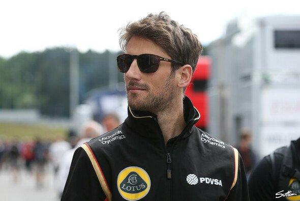 Grosjean würde gerne für Renault fahren - Foto: Sutton