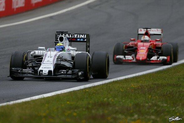 Williams vor Ferrari: Laut Massa und Symonds wird das immer schwieriger - Foto: Sutton