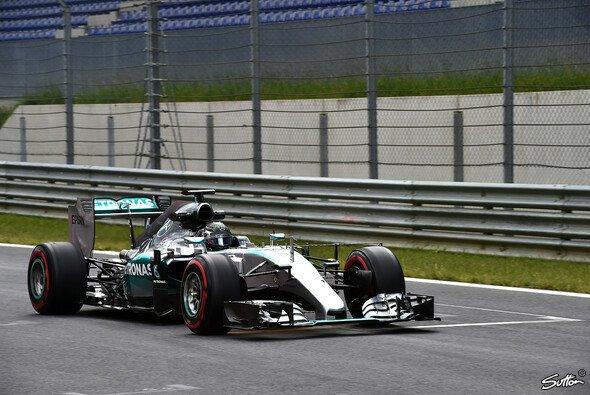 Der Sieger des Österreich GP war auch bei den Testfahrten am Mittwoch der Schnellste: Nico Rosberg - Foto: Sutton