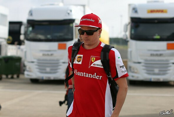 Ferrari-Pilot Räikkönen findet die Formel 1 nicht gefährlich genug. - Foto: Sutton