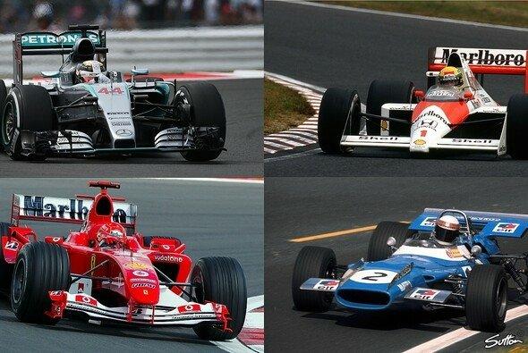 Hamilton ließ Größen wie Stewart, Schumacher und Senna hinter sich - Foto: Sutton