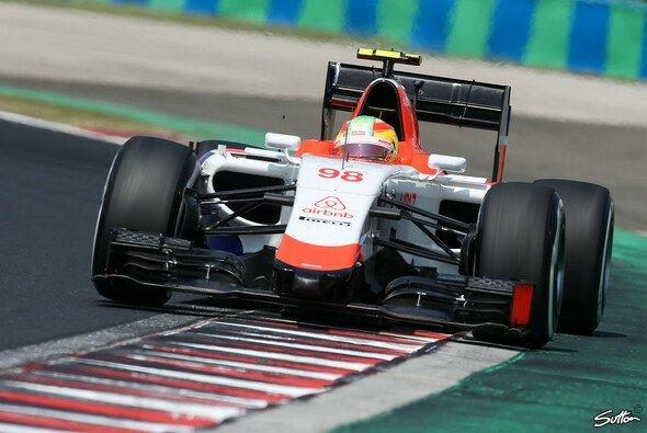 Manor Marussia fuhr in Ungarn für den verstorbenen Jules Bianchi - Foto: Sutton