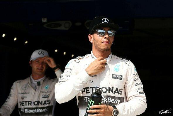 Hamilton vor Rosberg? Oder spuckt dem Mercedes-Duo jemand in die Suppe? - Foto: Sutton