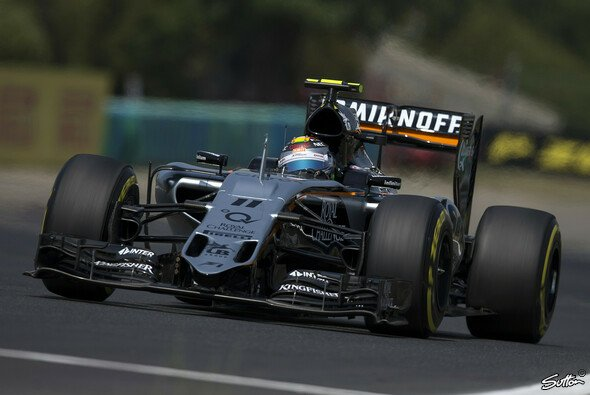 Force India will in Belgien mit beiden Autos locker in die Punkte fahren - Foto: Sutton