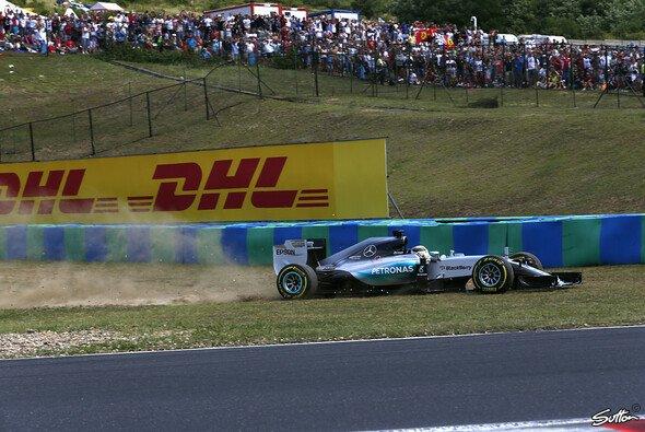 Lewis Hamilton zeigte in Ungarn eine wilde Vorstellung, David Coulthard verteidigt ihn. - Foto: Sutton