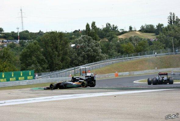 In Ungarn kassierte Maldonado für einen Zwischenfall mit Perez zwei Strafpunkte - Foto: Sutton