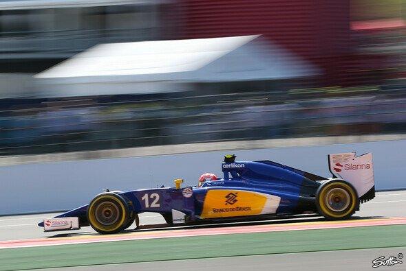 Felipe Nasr will in Monza endlich wieder Punkte und sieht in den Bremsen kein Problem. - Foto: Sutton