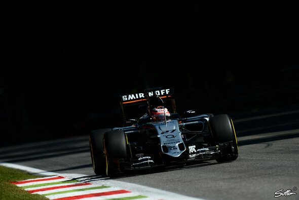 Force India zeigte eine starke Performance - Foto: Sutton