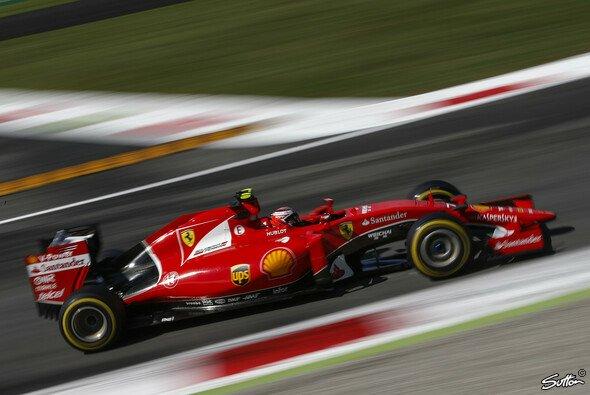 Kimi Räikkönen fuhr als Schnellster durch die Speedtrap - Foto: Sutton