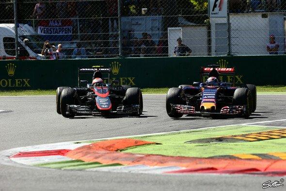 Für McLaren gab es in Italien erwartungsgemäß nichts zu holen - Foto: Sutton