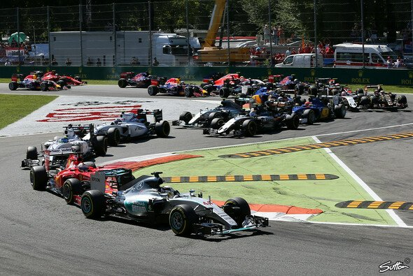 Der Italien GP in Monza begeisterte die Massen - Foto: Sutton