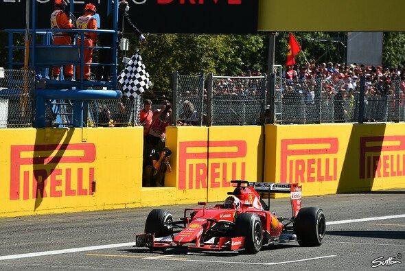 Ferrari feierte beim Heimrennen in Monza einen zweiten Platz - Foto: Sutton