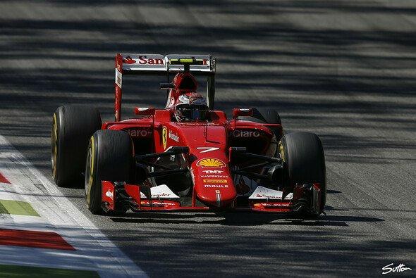 Räikkönen in Monza: Besser als eine Nummer, glaubt Mika Häkkinen - Foto: Sutton