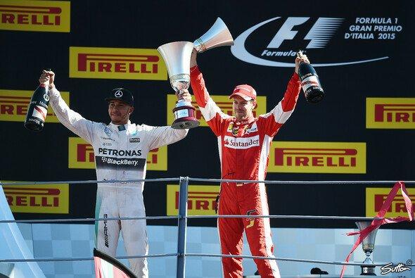Sebastian Vettel und Lewis Hamilton kommen gemeinsam auf sechs Grand Slams - Foto: Sutton