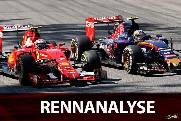 Kimi Räikkönen musste sich von Rang 14 nach vorne arbeiten - Foto: Sutton