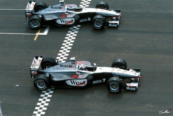 Die Partnerschaft zwischen McLaren und Mercedes brachte die berühmten Silberpfeile zurück in die Formel 1 - Foto: Sutton