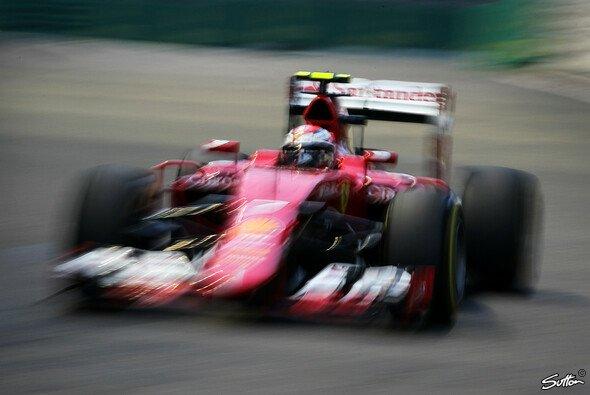 Schnell, aber nicht schnell genug: Kimi Räikkönen - Foto: Sutton