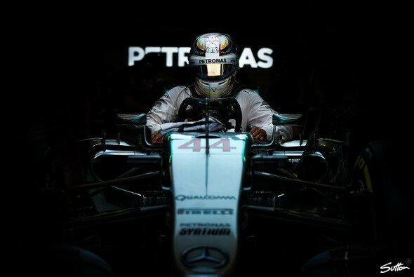 Lewis Hamilton ist kurz davor, nach Siegen mit Senna gleichzuziehen - Foto: Sutton