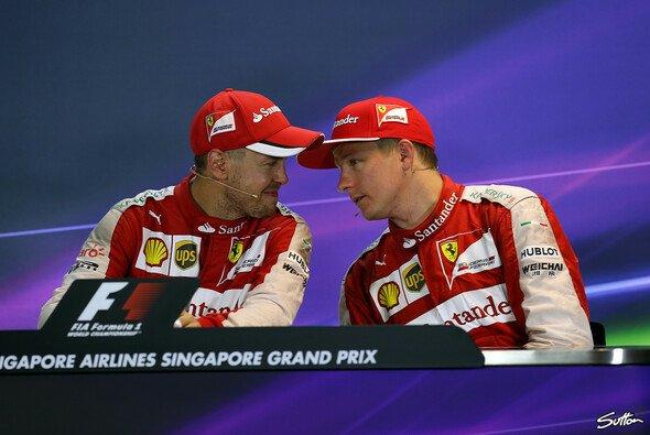 Räikkönen mit Platz 3 zufrieden - Foto: Sutton