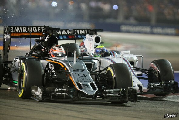 Force India möchte an Williams vorbei - Foto: Sutton