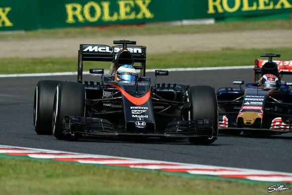 Wird Fernando Alonso 2016 nicht mehr auf den Geraden gefressen? - Foto: Sutton