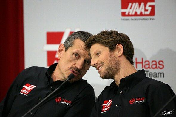 Romain Grosjean konnte von Günther Steiner und Gene Haas überzeugt werden - Foto: Sutton