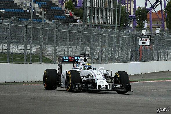 Felipe Massa sicherte sich am Freitag die Bestzeit - Foto: Sutton