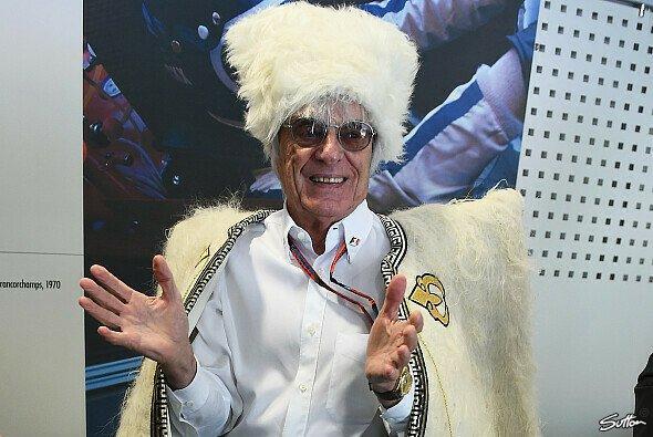 Bernie Ecclestone: Bei manchen Dingen versteht er Spaß, bei manchen keinen - Foto: Sutton