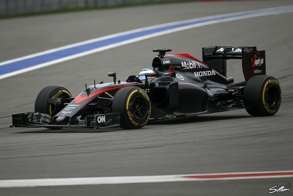 Besonders der Honda Motor im McLaren hat Aufholbedarf - Foto: Sutton