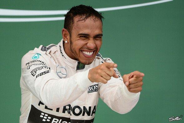 Lewis Hamilton siegte die Formel 1 in diesem Jahr in Grund und Boden - Foto: Sutton