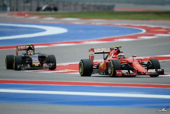 Kimi Räikkönen fordert einheitliche Auslegung der Regeln bei Zweikämpfen - Foto: Sutton