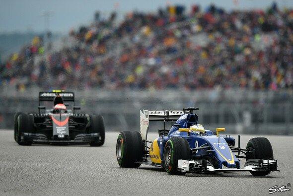 Teilen sich Sauber und McLaren bald denselben Motor? - Foto: Sutton