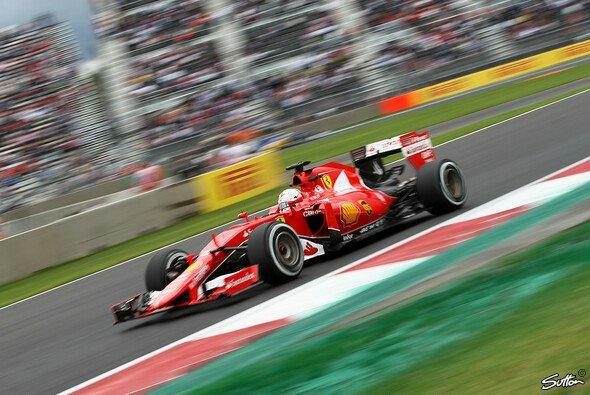 Sebastian Vettel fuhr am Freitag auf P4 und P5 - Foto: Sutton