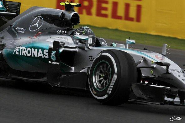 Nico Rosberg fuhr die Bestzeit in Mexiko - Foto: Sutton