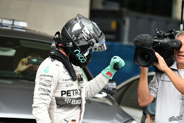 Rosberg sicherte sich die Pole Position in Mexiko - Foto: Sutton