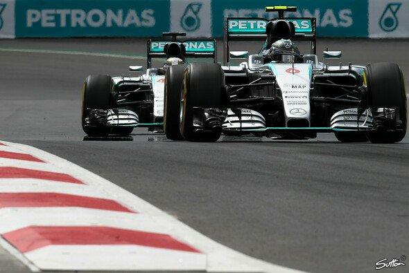 Mercedes startet in Mexiko aus der ersten Reihe - Foto: Sutton